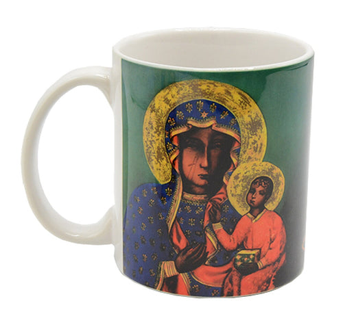Our Lady of Czestochowa Mug with Prayer