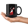 Polish Woman Warrior Black 11oz Mug