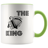 The Polka King Mug with Accordian