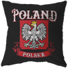 Poland Polska Pillow - My Polish Heritage