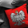 Polish Eagle Red Pillow - My Polish Heritage