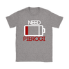 Battery Low, Need Pierogi Mens and Womens t-shirt