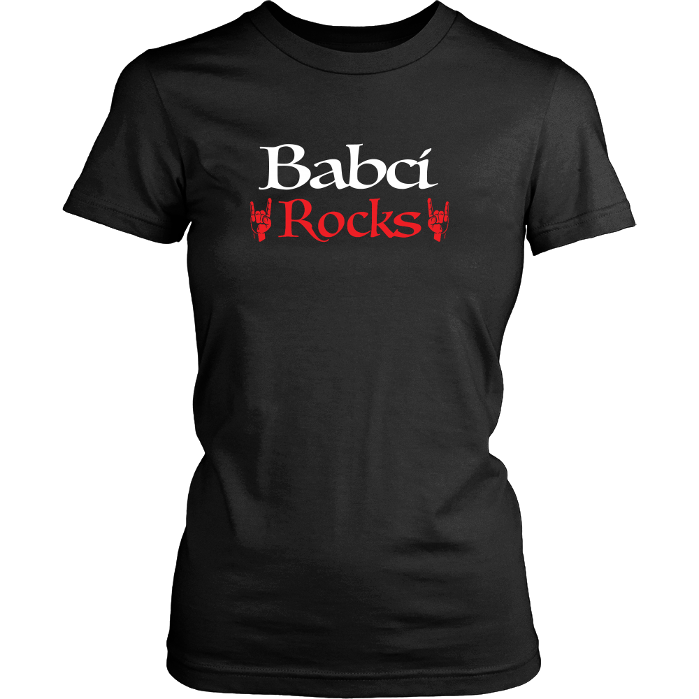 Babci Rocks I Shirt - My Polish Heritage