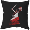 Polish Woman Warrior Pillow