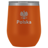 Polska with Eagle Wine Tumbler