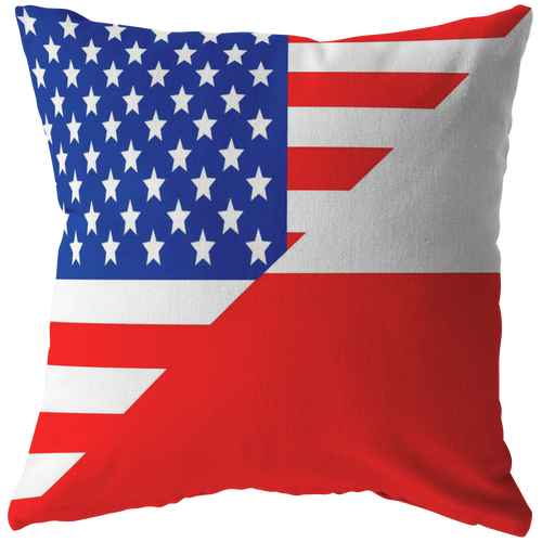 American Polish Pillow and Pillow Cover