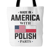 With Polish Parts Tote Bag