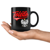 Toledo Polish Black 11oz Mug