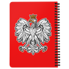Polish Eagle Red Spiralbound Notebook