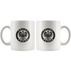Polska Poland Circle with Eagle Coffee Mug