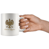 Gold Polish Queen with Eagle Coffee Mug