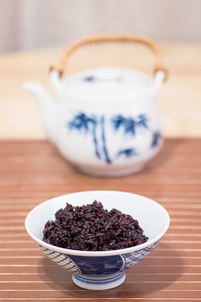 Black Rice and Teapot