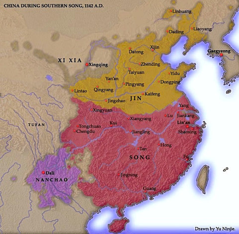 Nan-Song-map