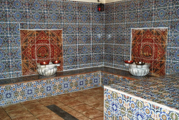Interior of a hammam