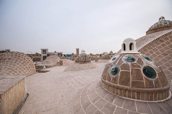Domes of a Turkish Hammam