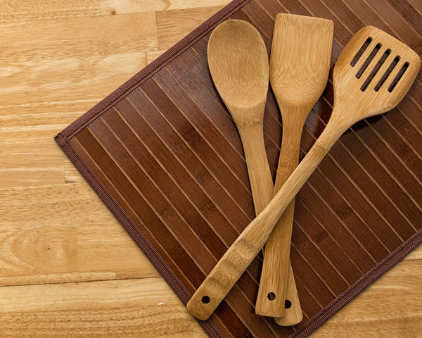 3-Piece Bamboo Utensil Set
