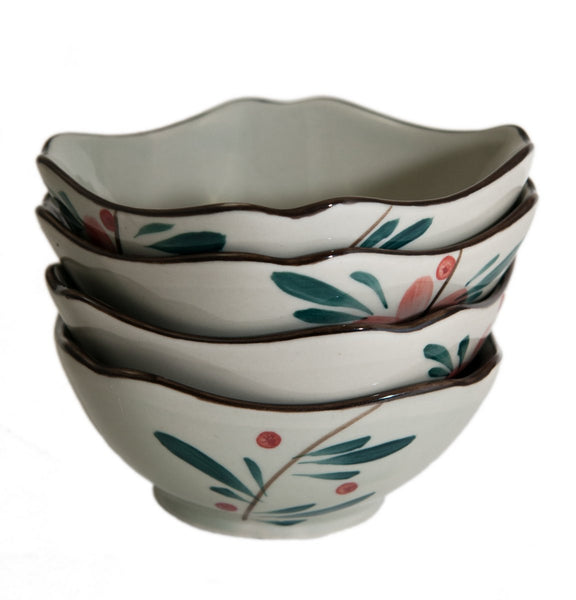 4 Piece Appetizer Bowl Set