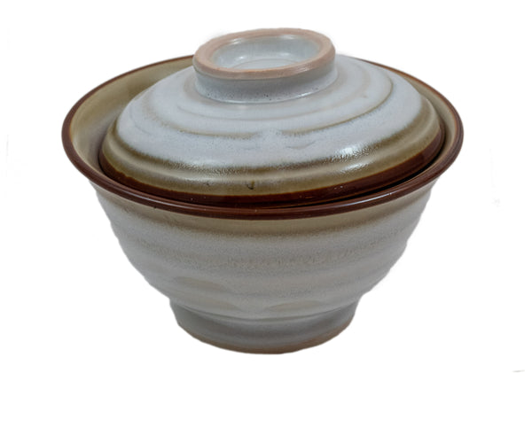 Japanese Rice Bowl with Lid | JadeSouk