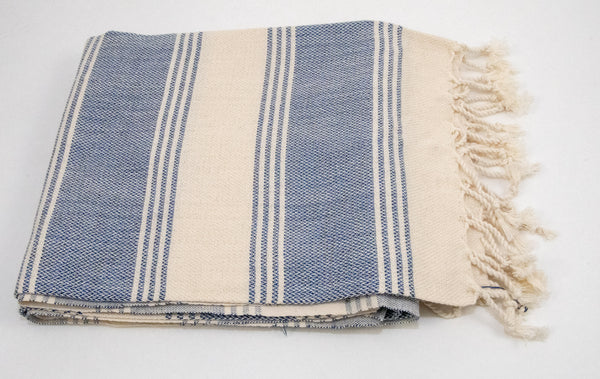 Turkish Peshtemel Towels - Classic Hamam | Blue