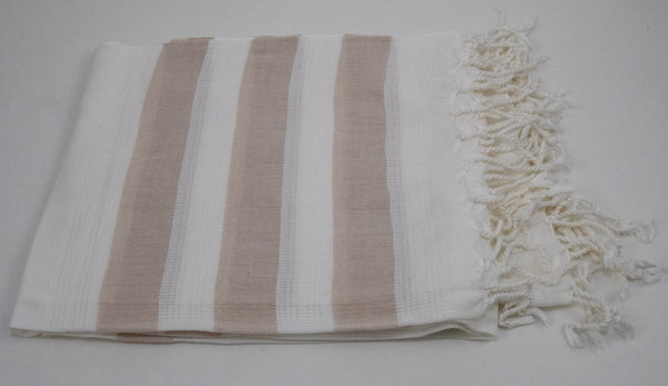 Turkish Peshtemel Towels - Dardanelles Luxe | Cafe au Lait
