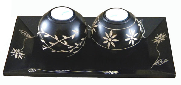 Savannakhet 3-pc Candle Holder Set | JadeSouk