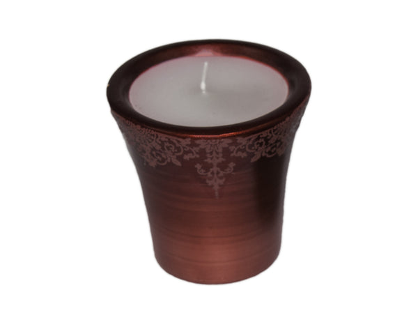 Votive Ceramic Candle Holder (Red | Green)