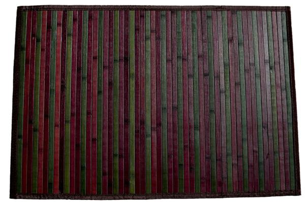 "Tri-color Bamboo Place Mat (12"" x 18"")"