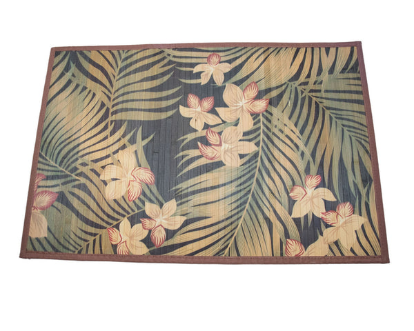 Tropical Bamboo Mat (2 x 3 ft.) | JadeSouk