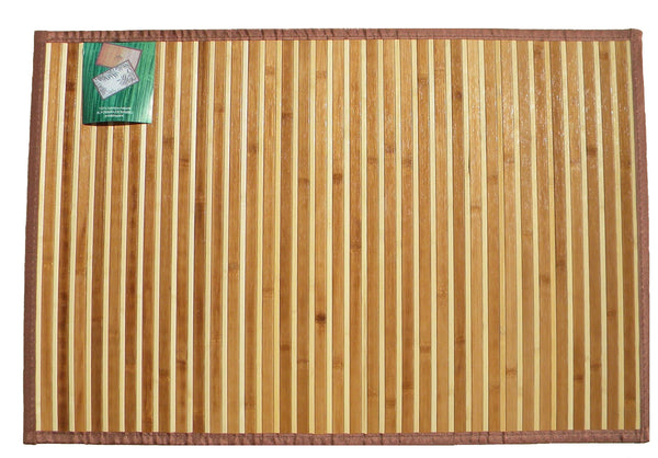 Two Tone Bamboo Mat (2 x 3 ft.) | JadeSouk