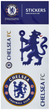 Official Chelsea FC Single Sheet Sticker