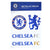 Official Chelsea FC  Metallic Decals