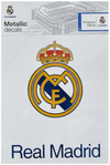 Official Real Madrid C.F. Metallic Decals
