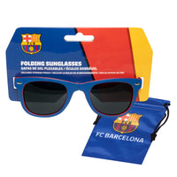 FC Barcelona Folding Sunglasses with Carrying Pouch
