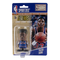 Patrick Ewing New York Knicks Sportzies NBA Legends Collectible Figurine