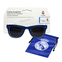 Real Madrid CF Folding Sunglasses with Carrying Pouch