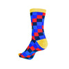 FC Barcelona Checkerboard Socks