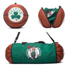 Boston Celtics Ball to Duffel