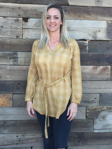 Billy Button Tunic - Everyday Eden