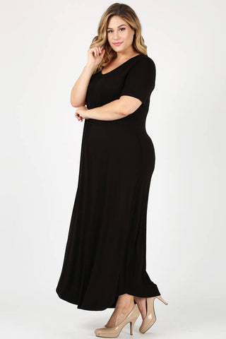 Begonia Beach Plus Size Maxi Dress