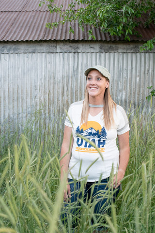 Utah Short Sleeve Tee - Everyday Eden