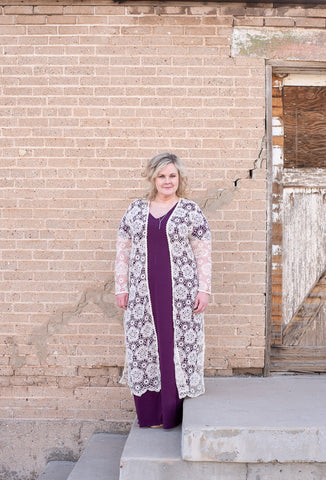Crochet Plus Size Duster - Everyday Eden