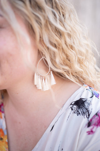 Fringe Earrings (Two Colors) - Everyday Eden