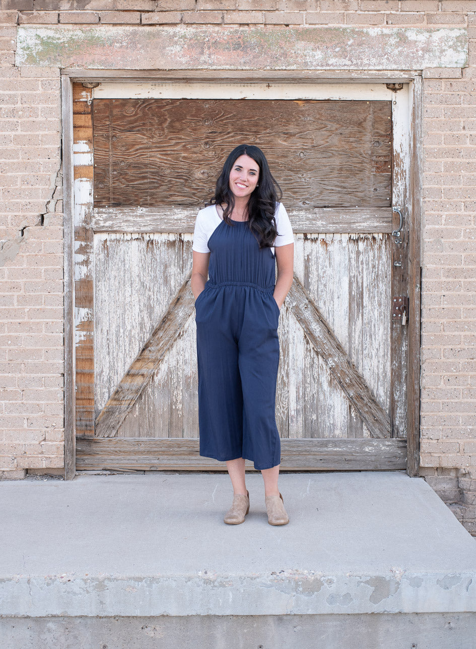 Halter Jumpsuit (Two Colors) - Everyday Eden