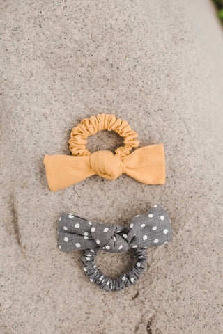 Bow Scrunchies - Everyday Eden