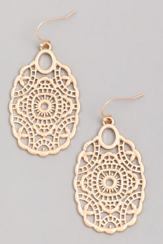 Boho Metal Earrings (Two Colors)