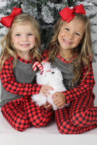 Poinsettia Pajamas Kids - Everyday Eden
