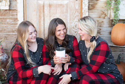Polka Dots & Plaid Lounge Wear - Everyday Eden