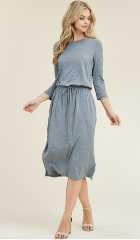 Tee Shirt Dress (Plus Size) - Everyday Eden