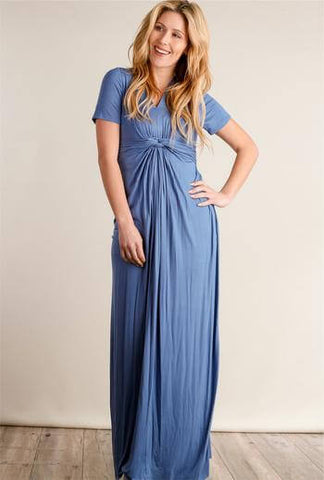 Knotted Maxi Dress - Everyday Eden