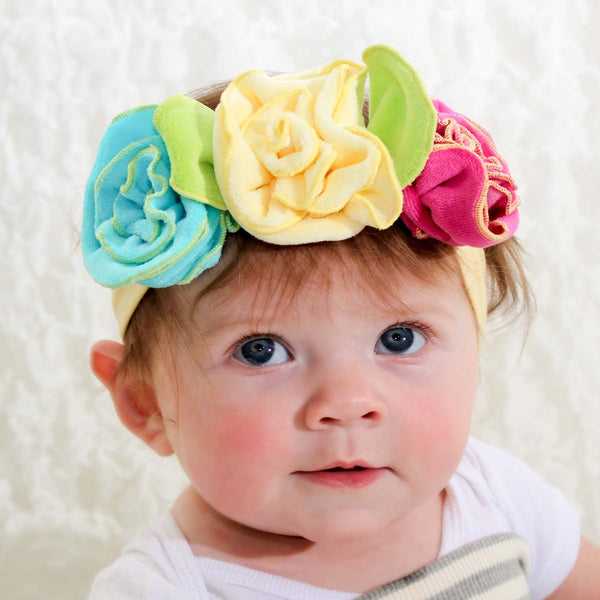 Multi Color Flower Crown-Cozy Cocoon